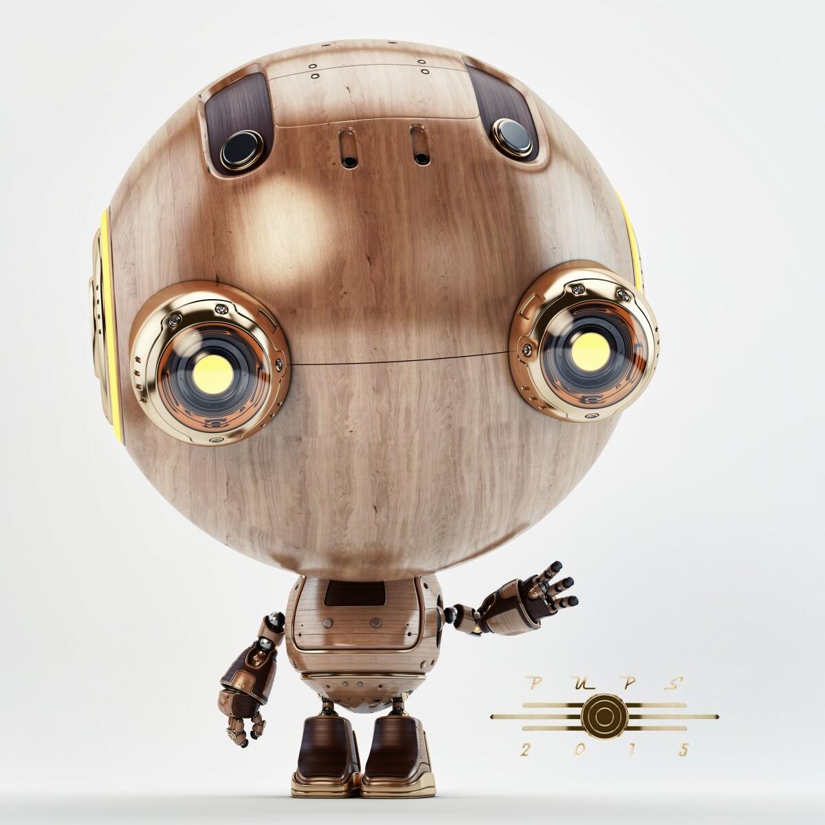 Vladislav ociacia robot pups little toy 5
