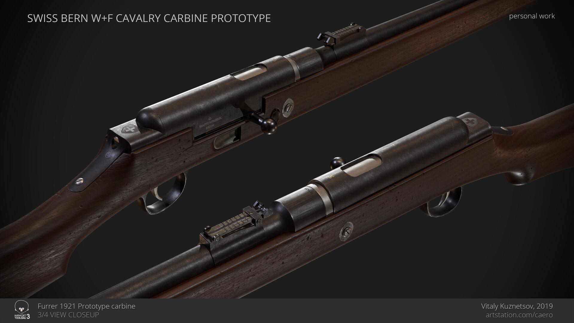 ArtStation - Bern Prototype cavalry carbine, Vitaly Kuznetsov