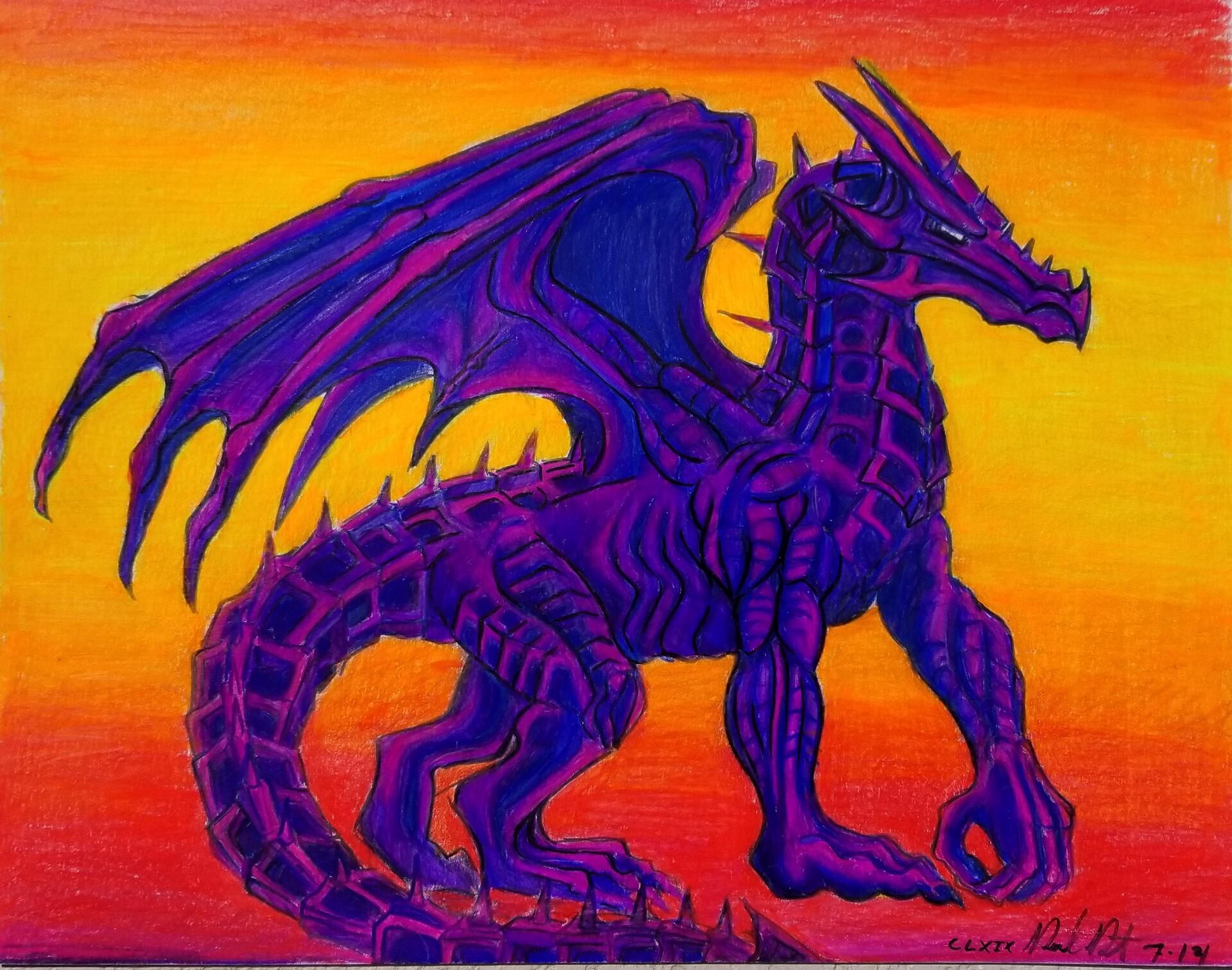 Daniel denta purple draco