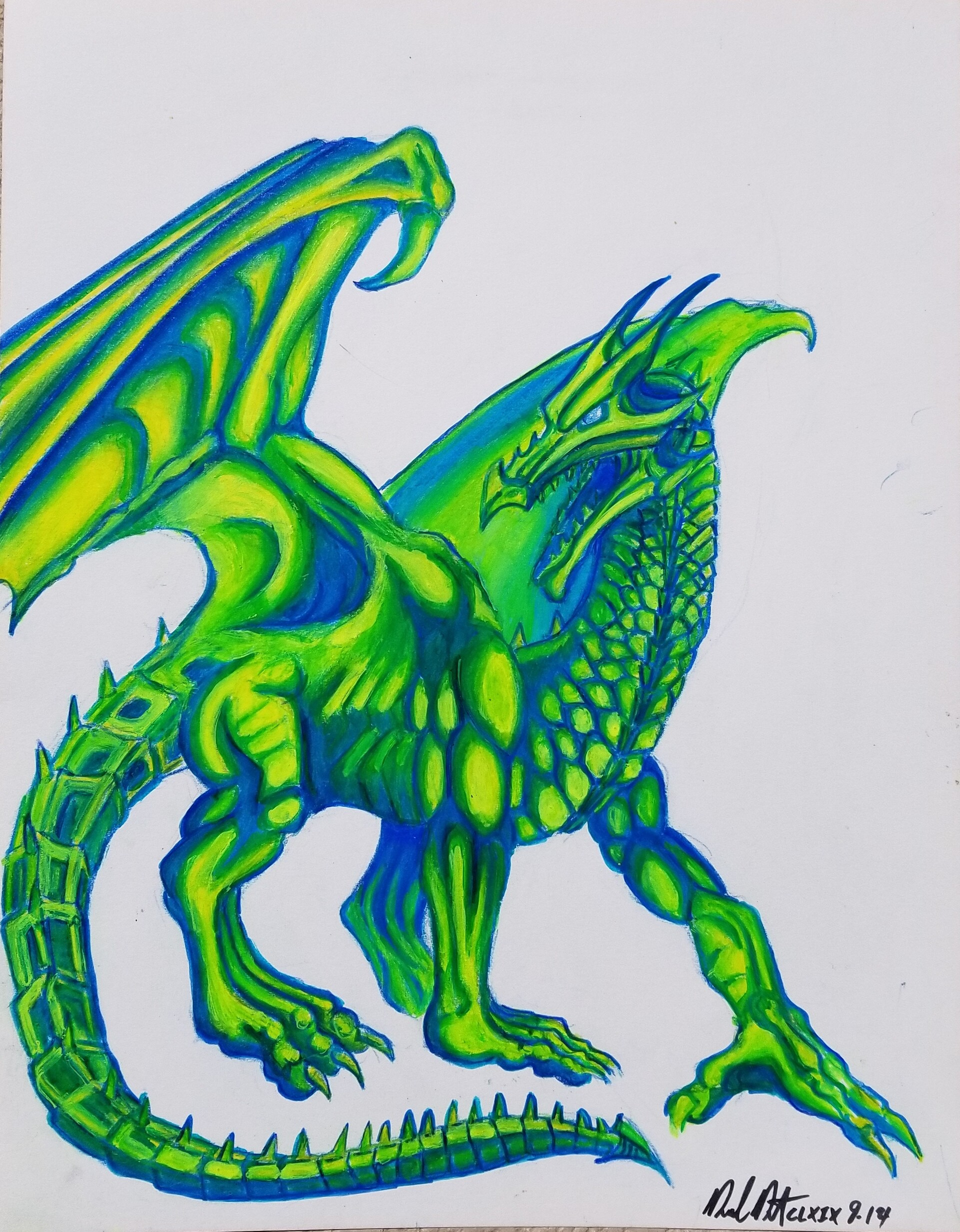 Daniel denta emerald draco
