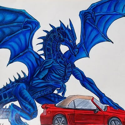 Daniel denta dragon stang rough hd