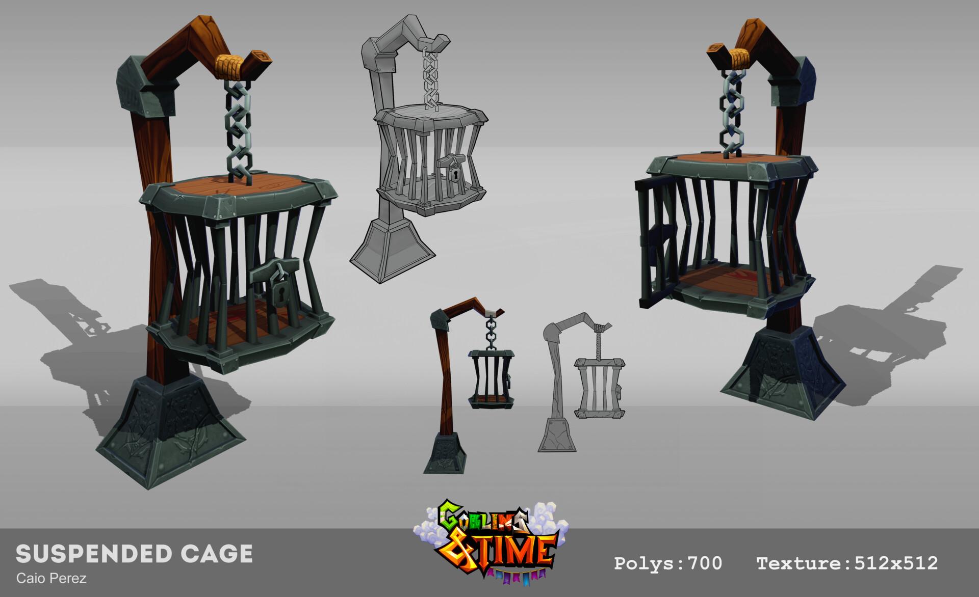 Caio perez cage concept3