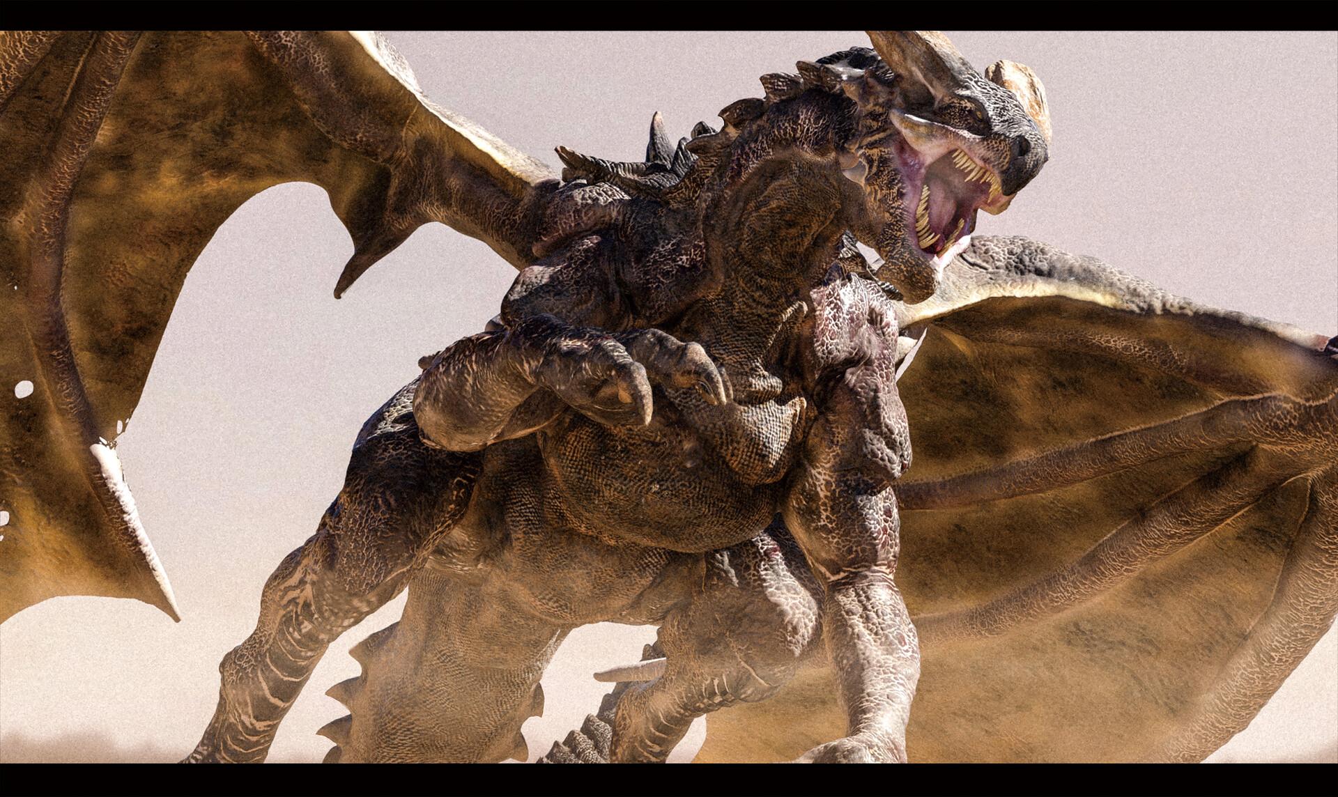 Wasteland Dragon