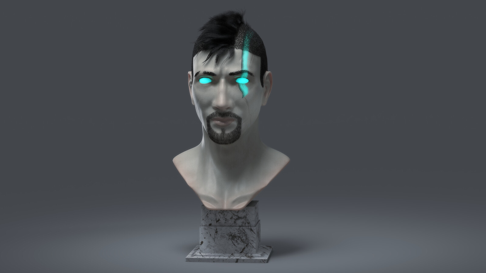 God of War - Adult Atreus Concept Bust