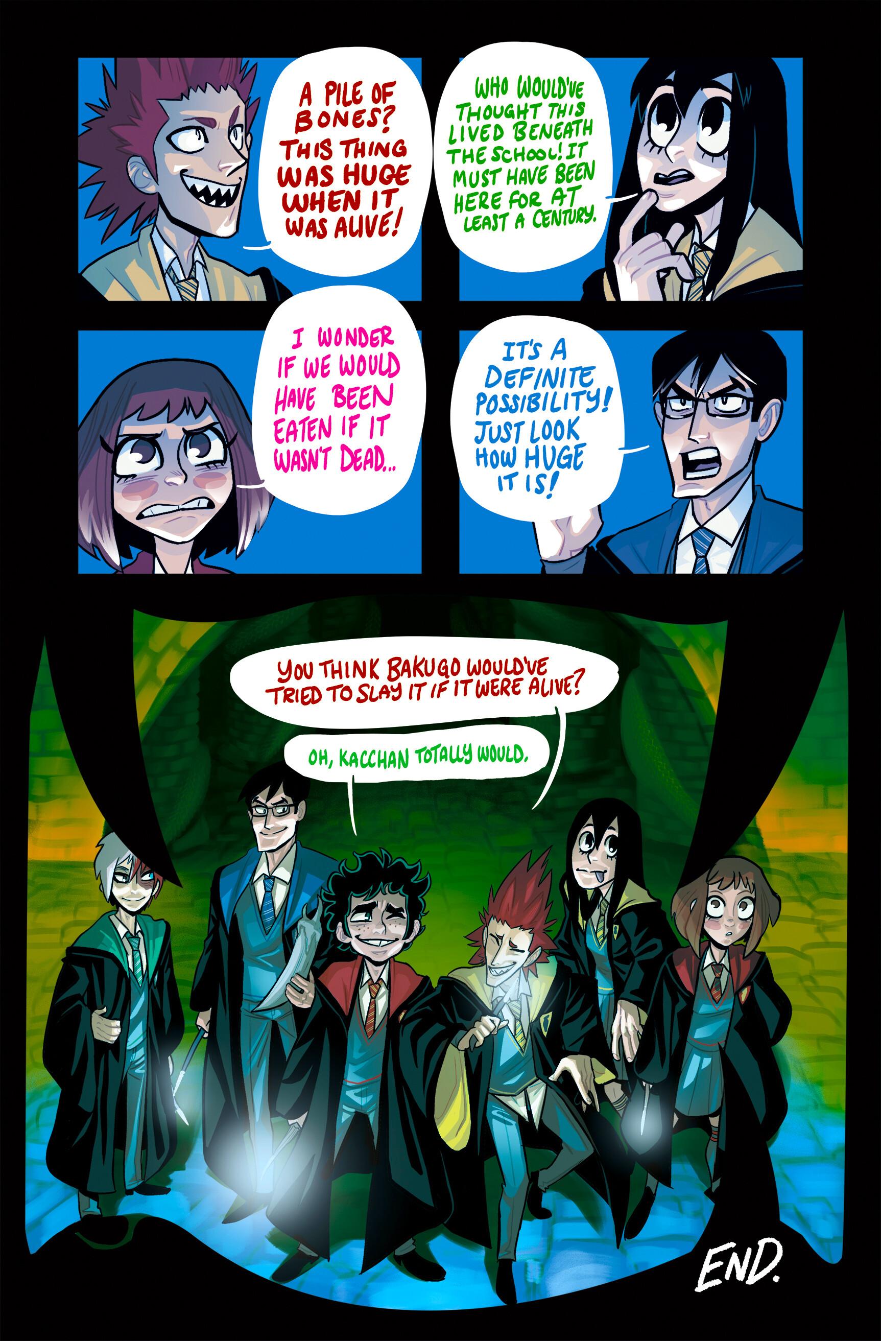 Artstation My Hero Academia X Harry Potter Comic Nicholas Beecher