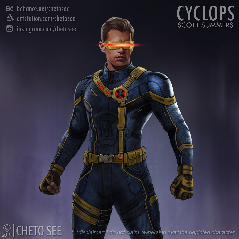 Artstation Cyclops Concept Art Cheto See