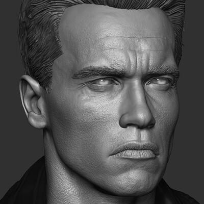 Arnold Schwarzenegger (Terminator 2) _ Darkside Collectibles Studio