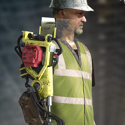 Shane baxley 72216 constructionworker arm baxley v3 lo