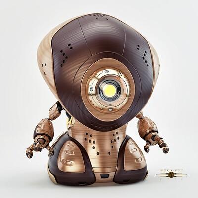 Vladislav ociacia work robot retro 1