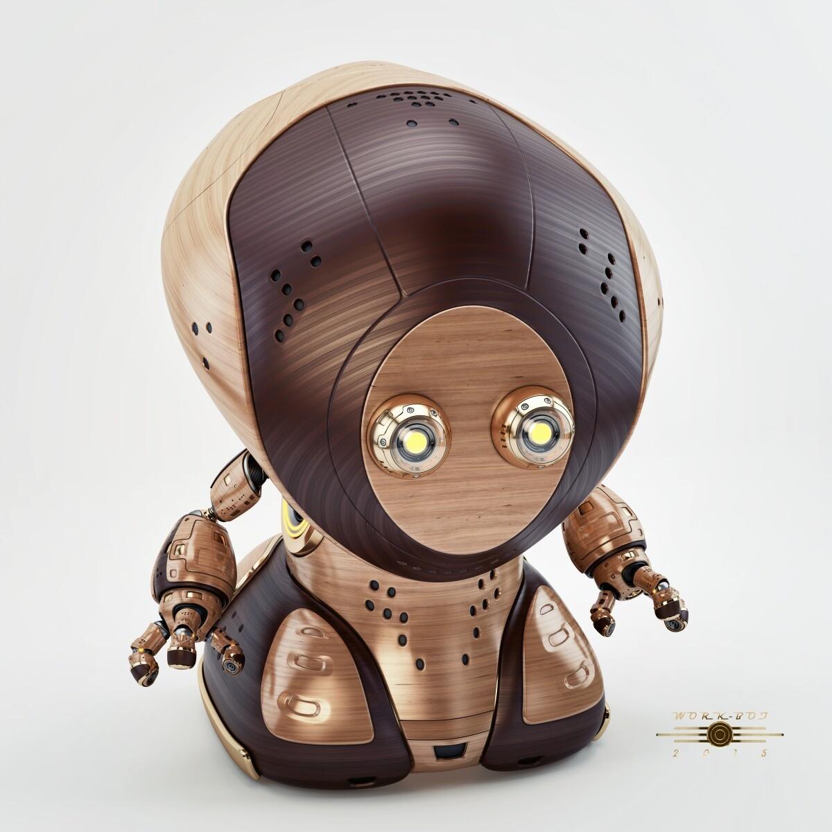 Vladislav ociacia work robot retro 3