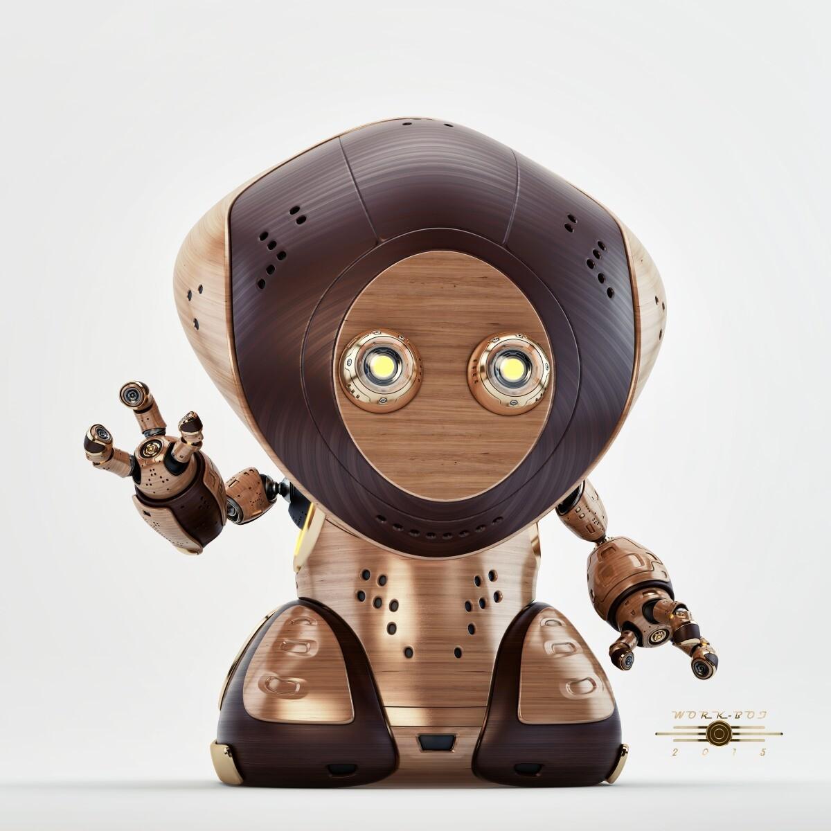 Vladislav ociacia work robot retro 5