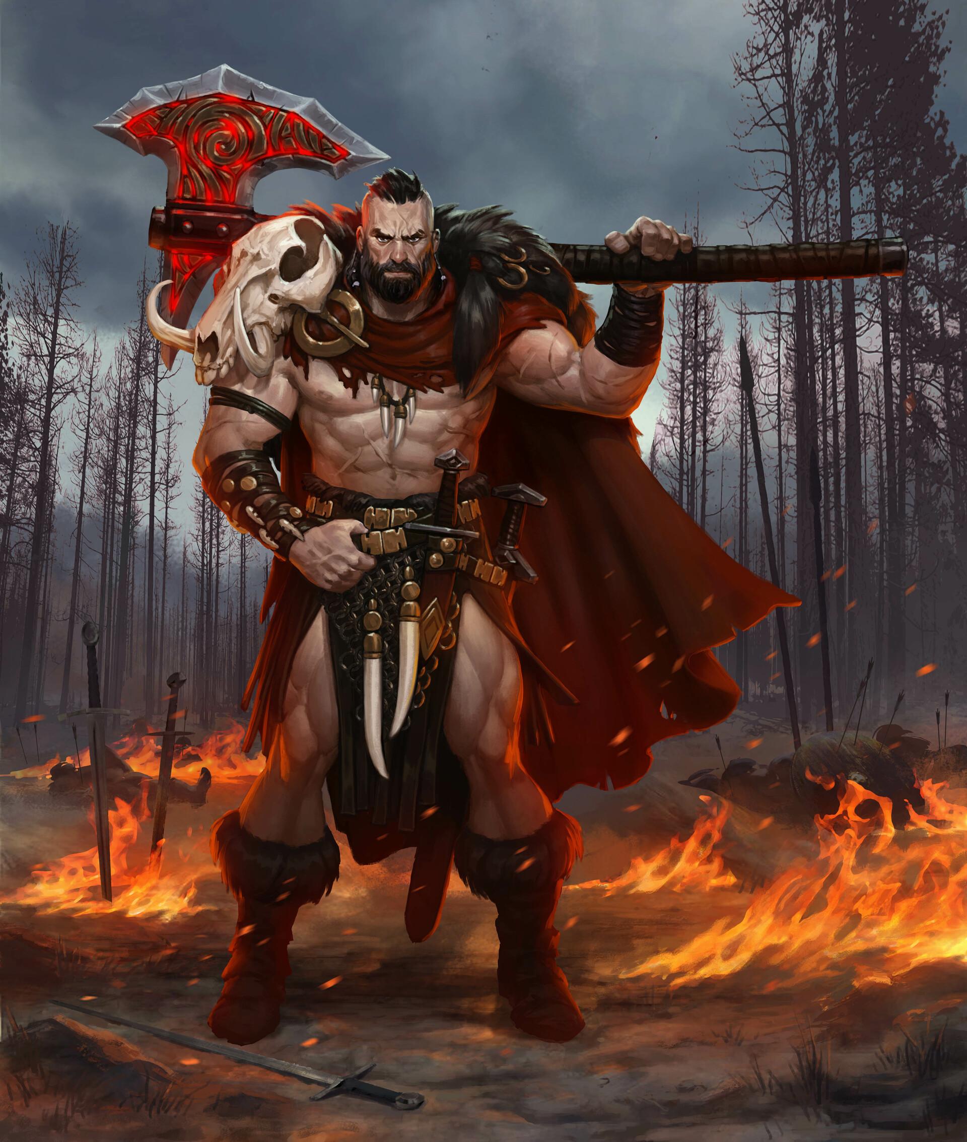 David kegg bloodstone barbarian final4