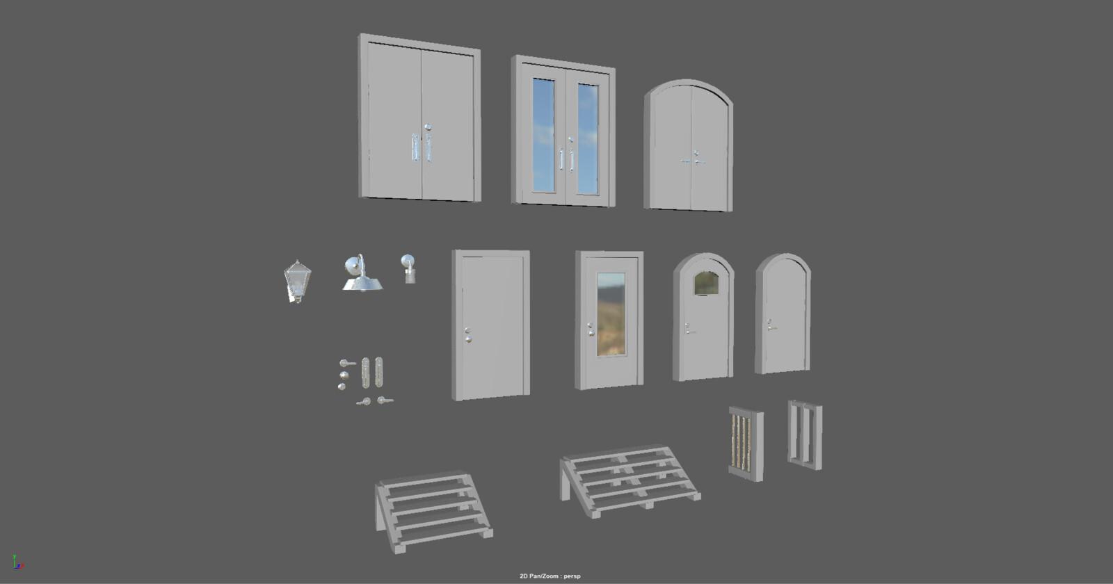 All door options