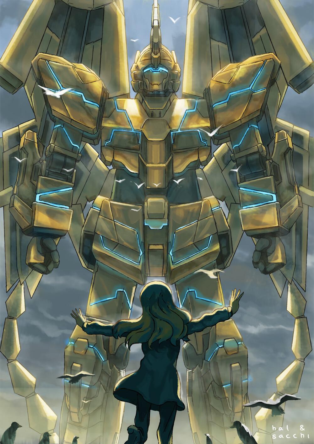 Dimas Novan Rita Amp Rx 0 Unicorn Gundam 03 Phenex
