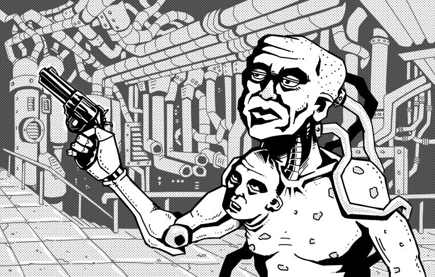 John ciarfuglia gonzo sci fi 1 artstation