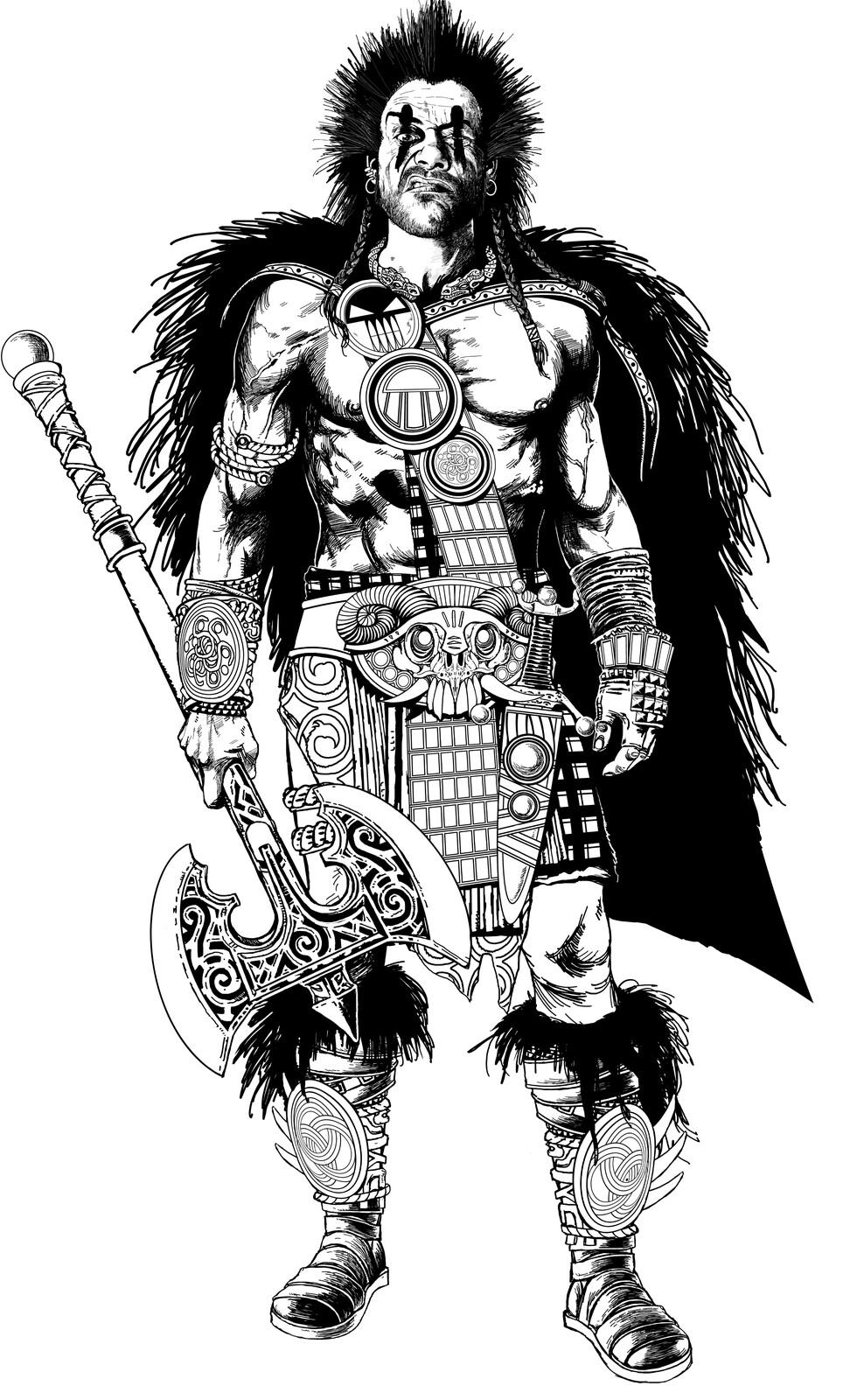 Slaine Character sketch