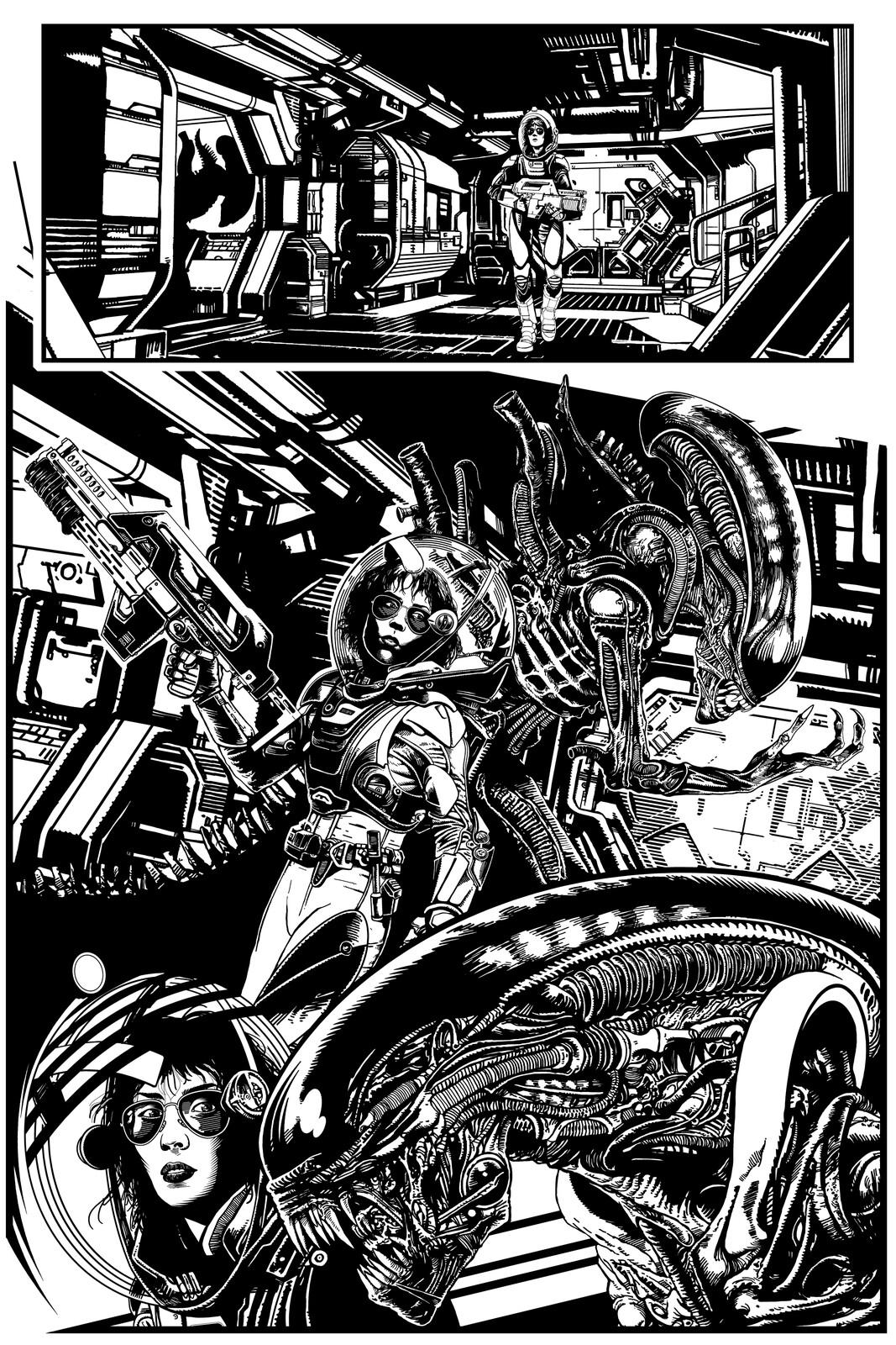 Alien Strip Page