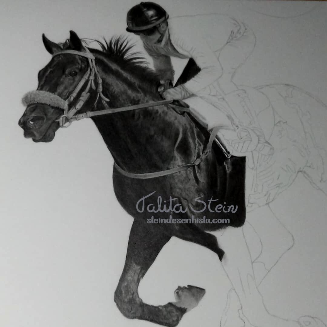 Artstation Racehorse Talita Stein