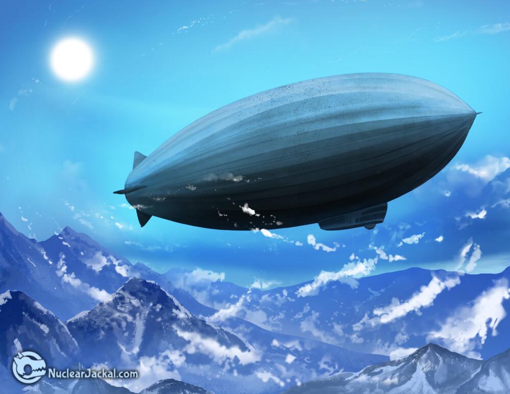 Nuclear jackal zeppelin