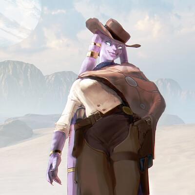Sereno ming cowgirl