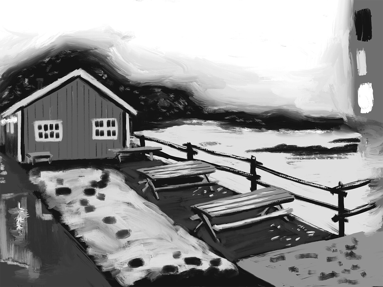 The last of the Norway sketches 033119