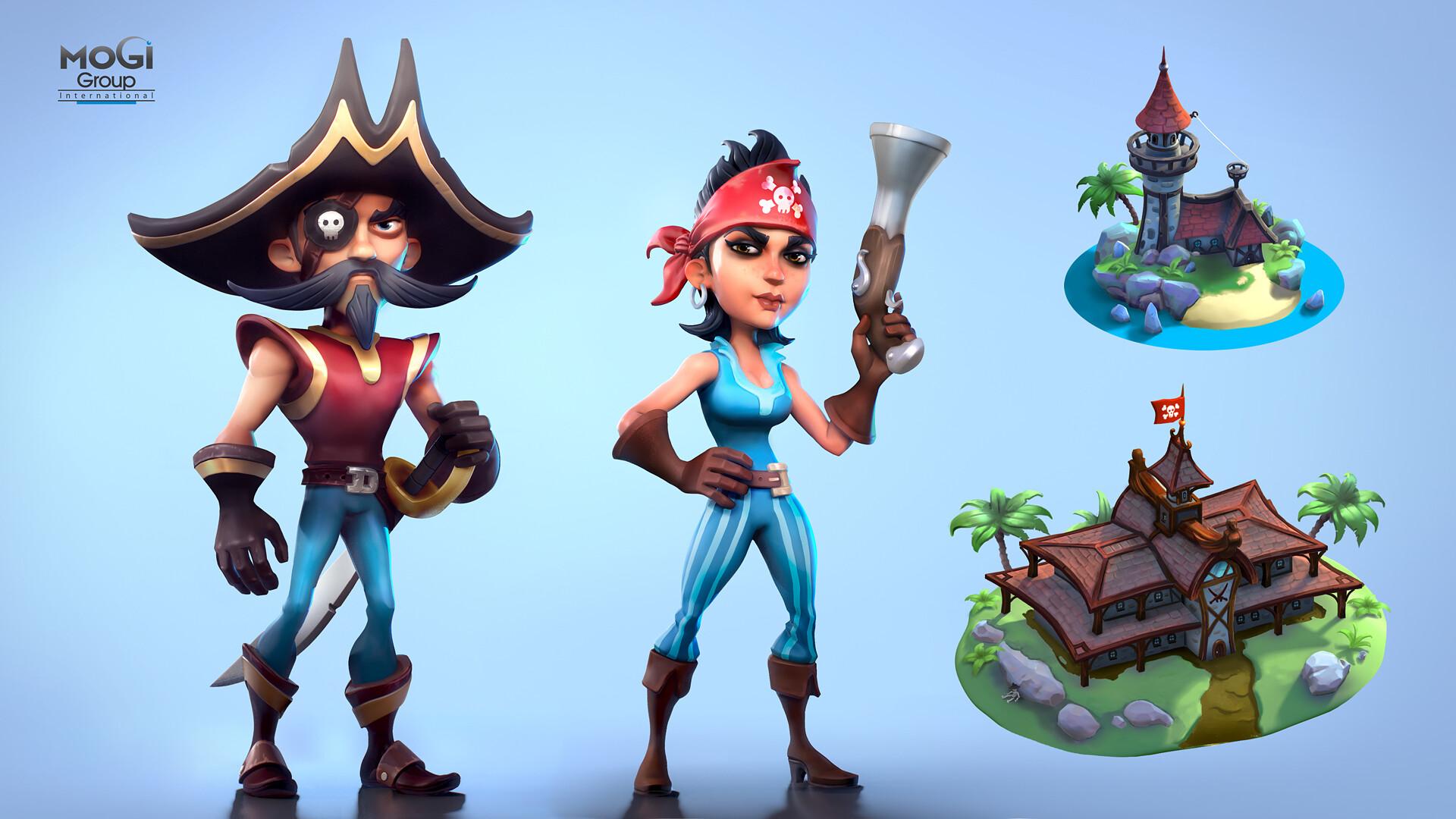 Miro petrov 06 cartoon pirates