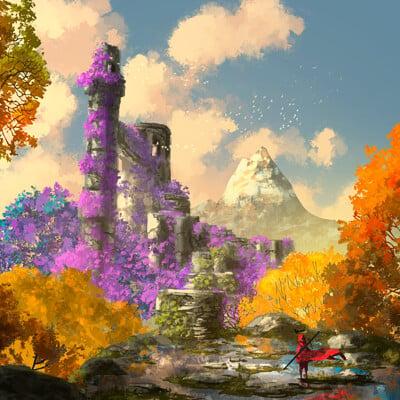 Anato finnstark the king s journey high garden by anatofinnstark dd3gtuy fullview