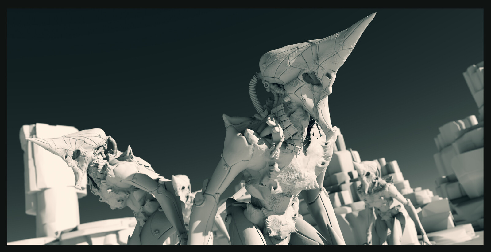 3d sketch for concept.