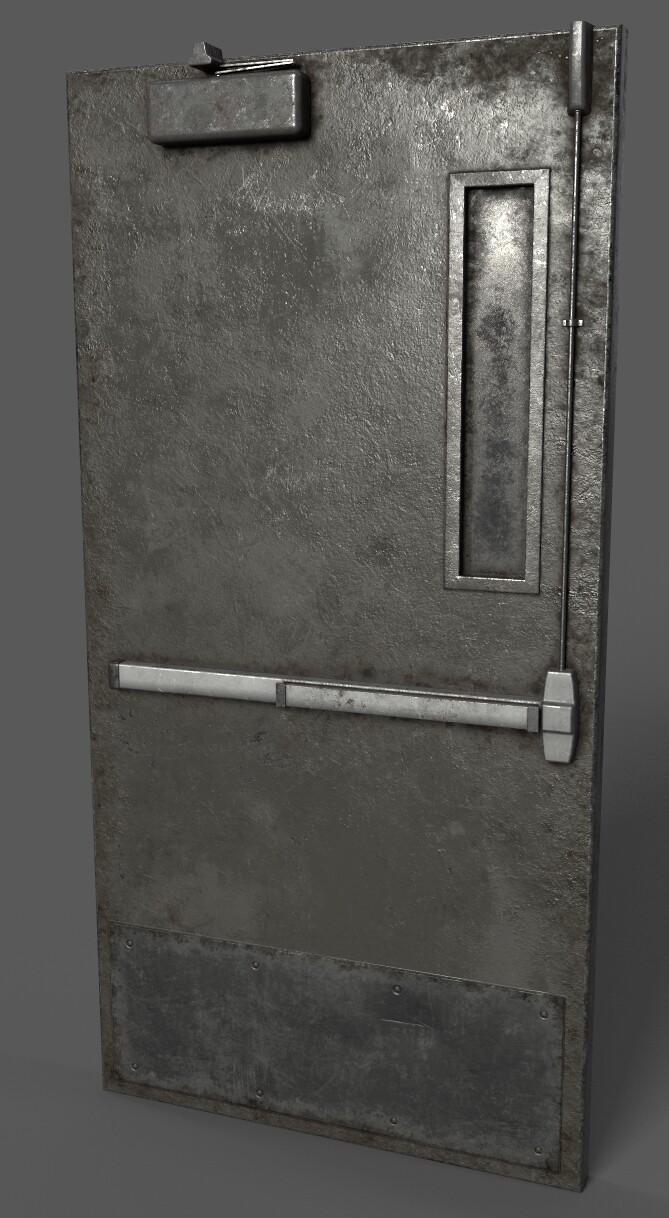 Hallway Door (Hallway Scene)