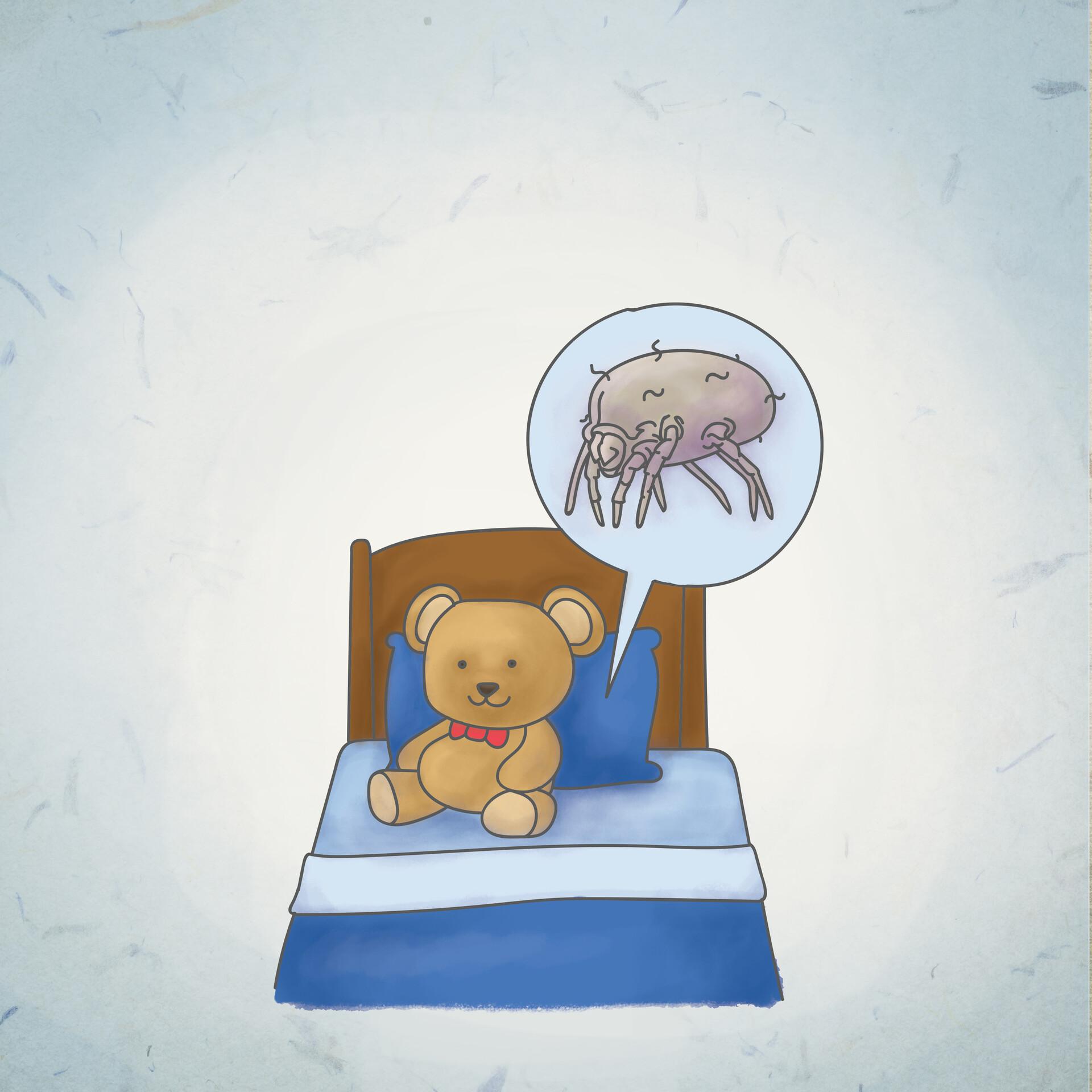 Alecs ganoria allergen dust mites