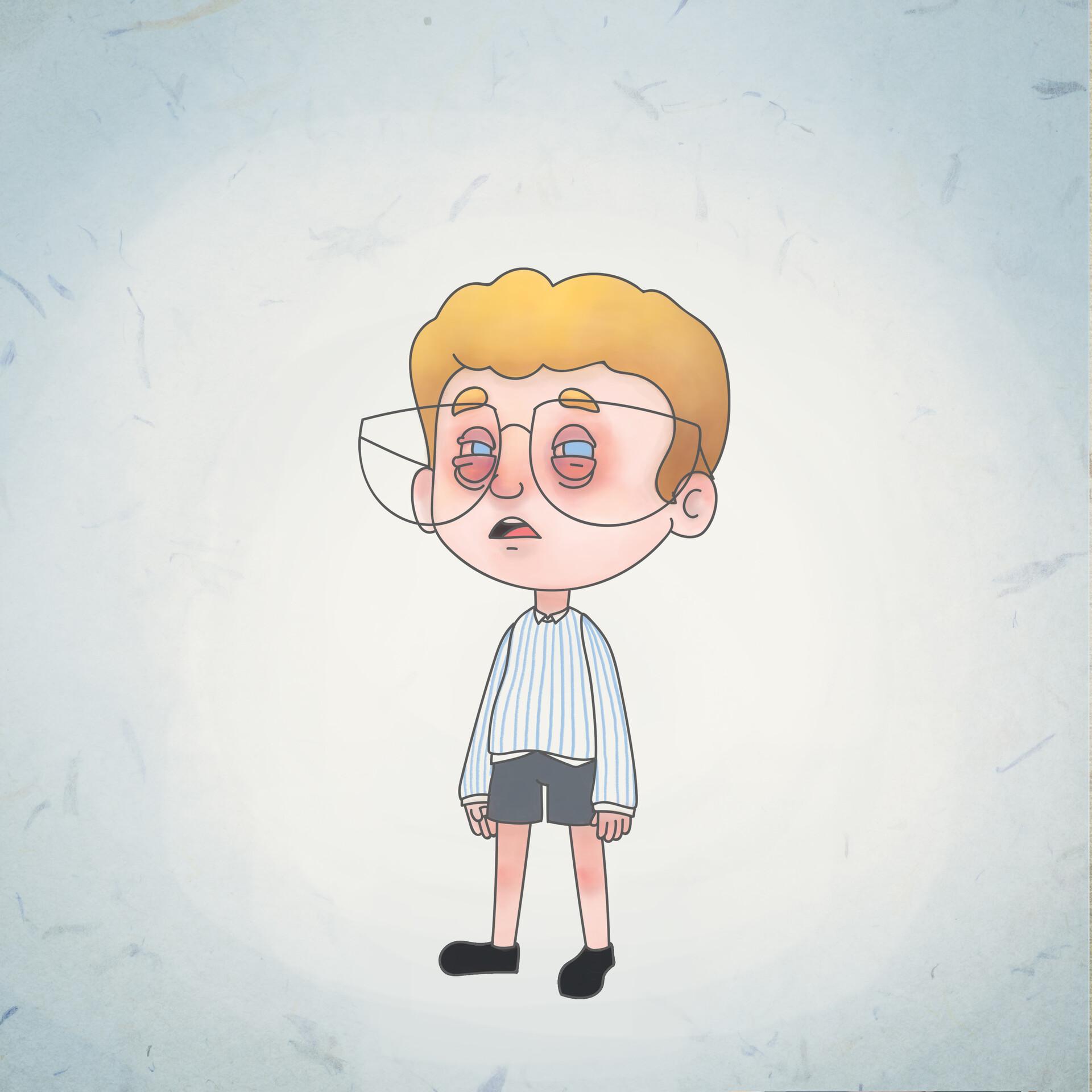 Alecs ganoria boy puffyeyes