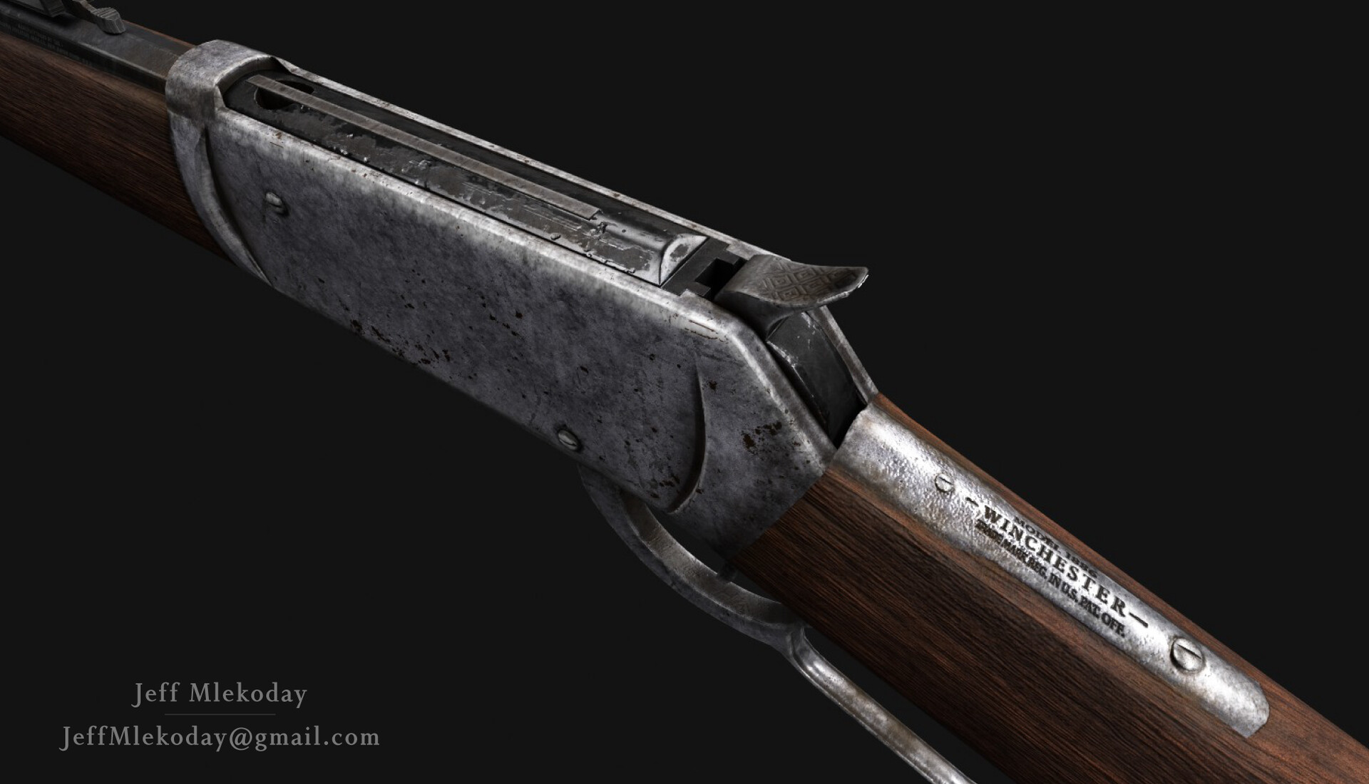 Jeff Mlekoday - Winchester 1886 Rifle