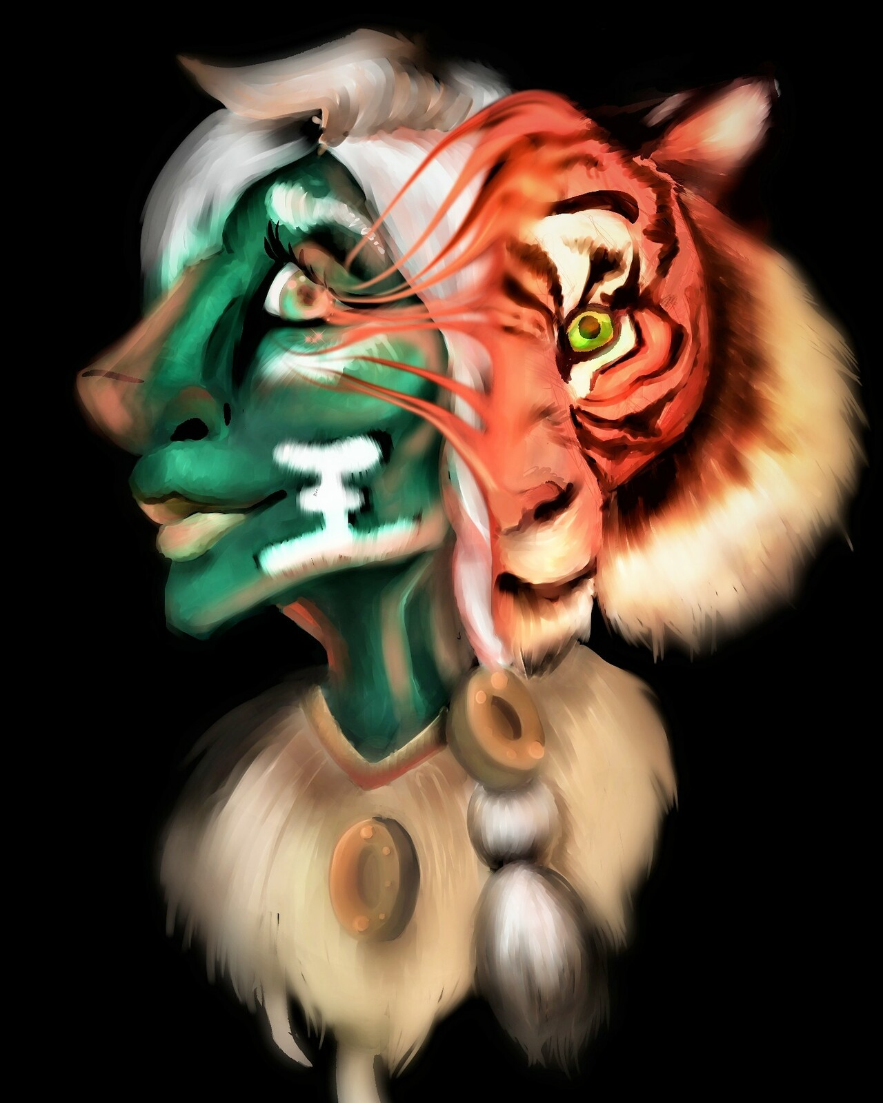 Animal spirit: tiger