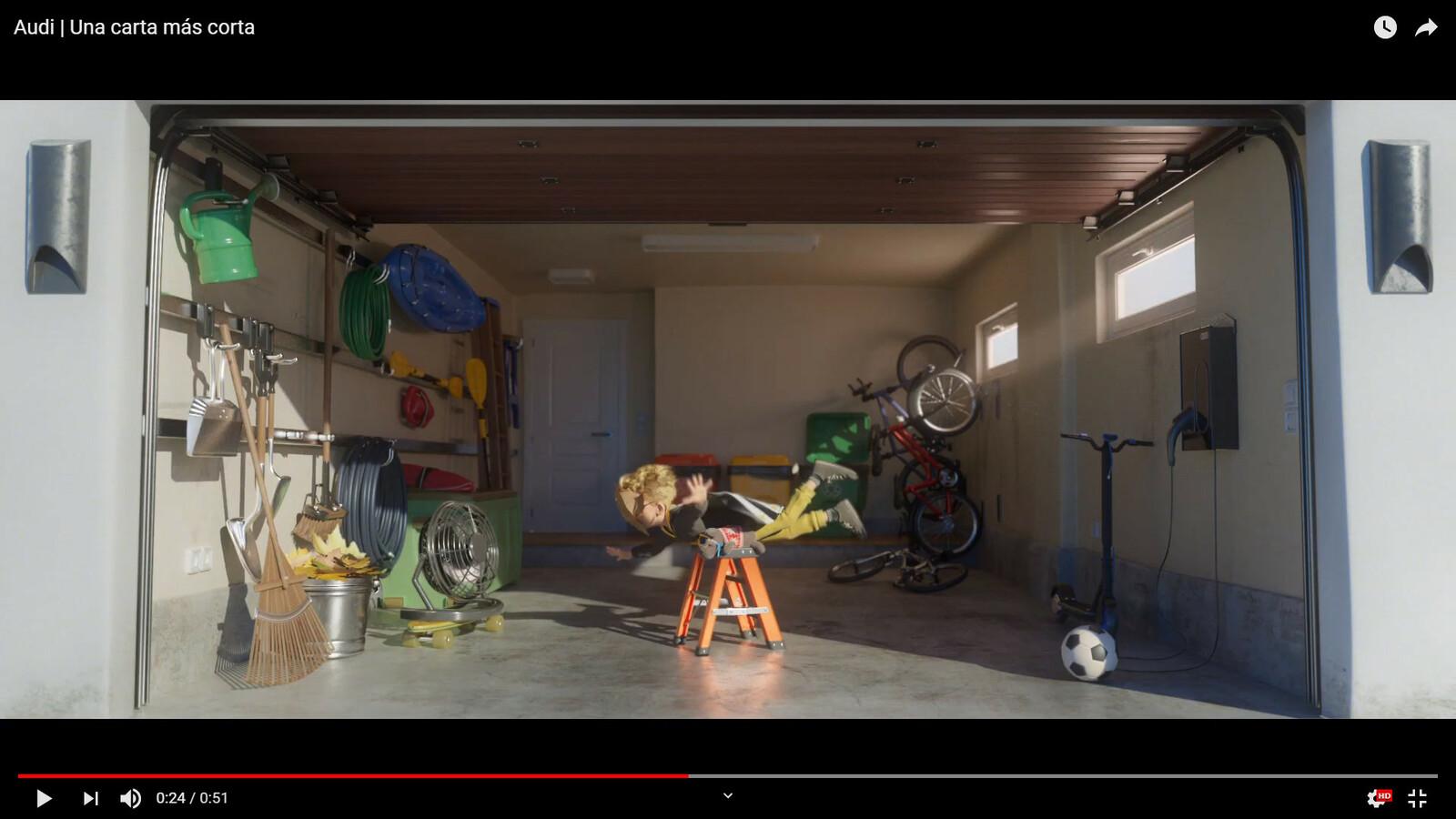 Short Animation for Audi