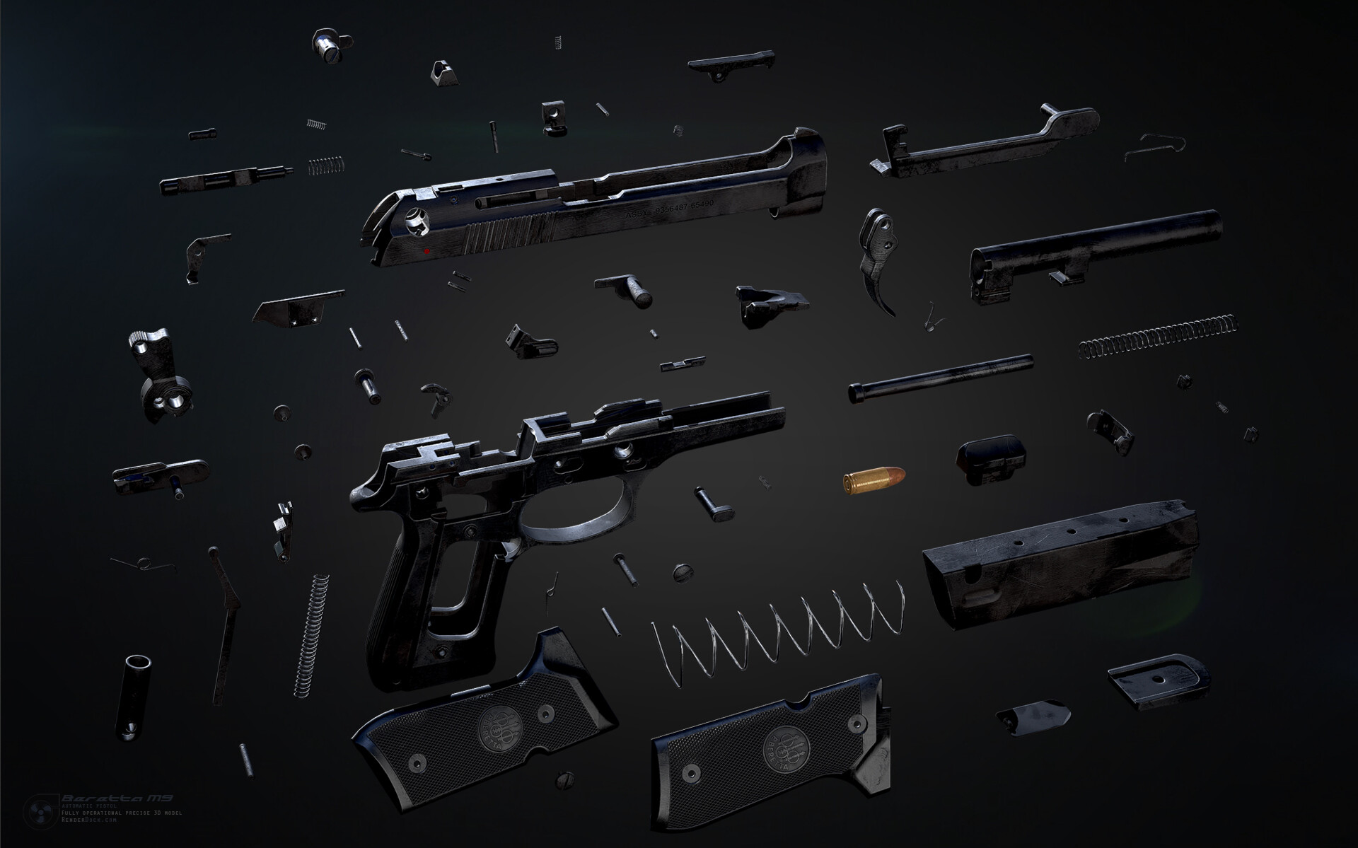 Renderdock studio beretta disassm