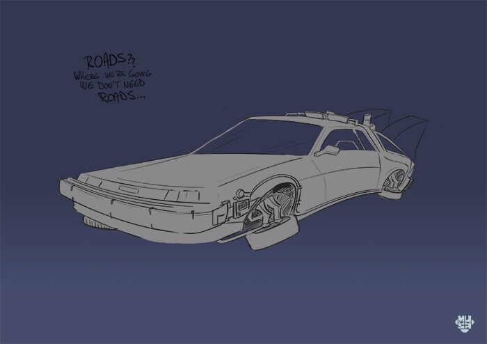 Musa art delorean 02 musa art