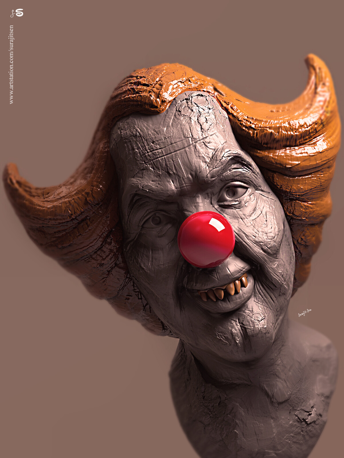 #quicksculpt #doodle #study One of my free time speed rough digital Sculpture. Wish to share….:)
