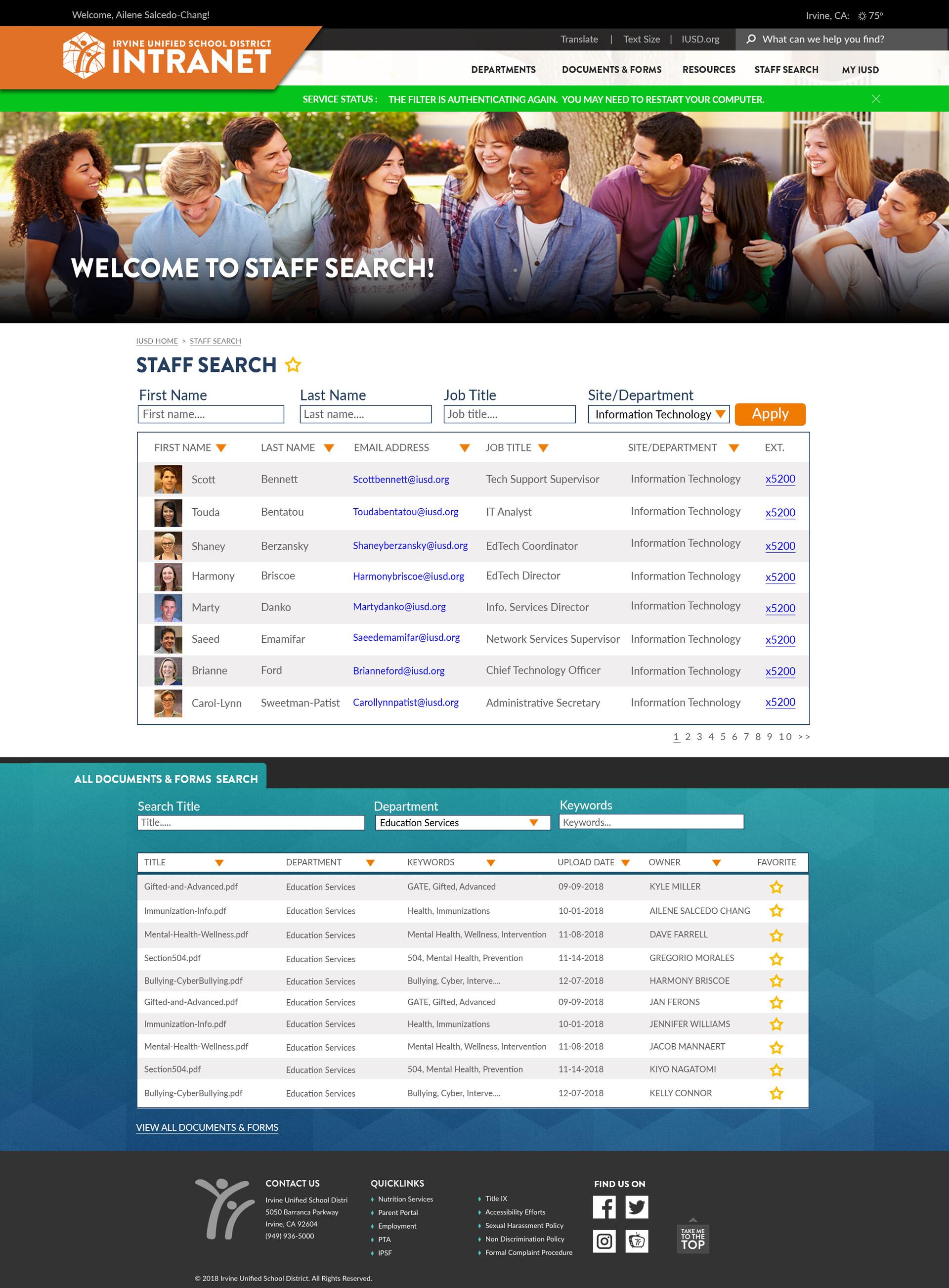 Kyle miller intranetmockup 2019 staffsearch v1 8