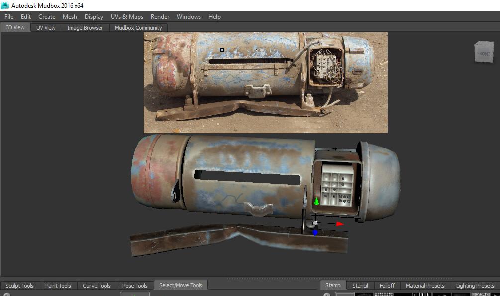 Mudbox Tools