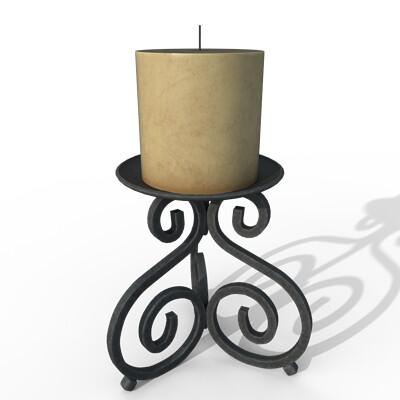Joseph moniz candleholder001a