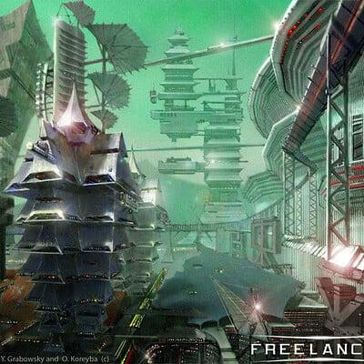 Oleg koreyba y grabowsky o koreyba freelancer game city japan2