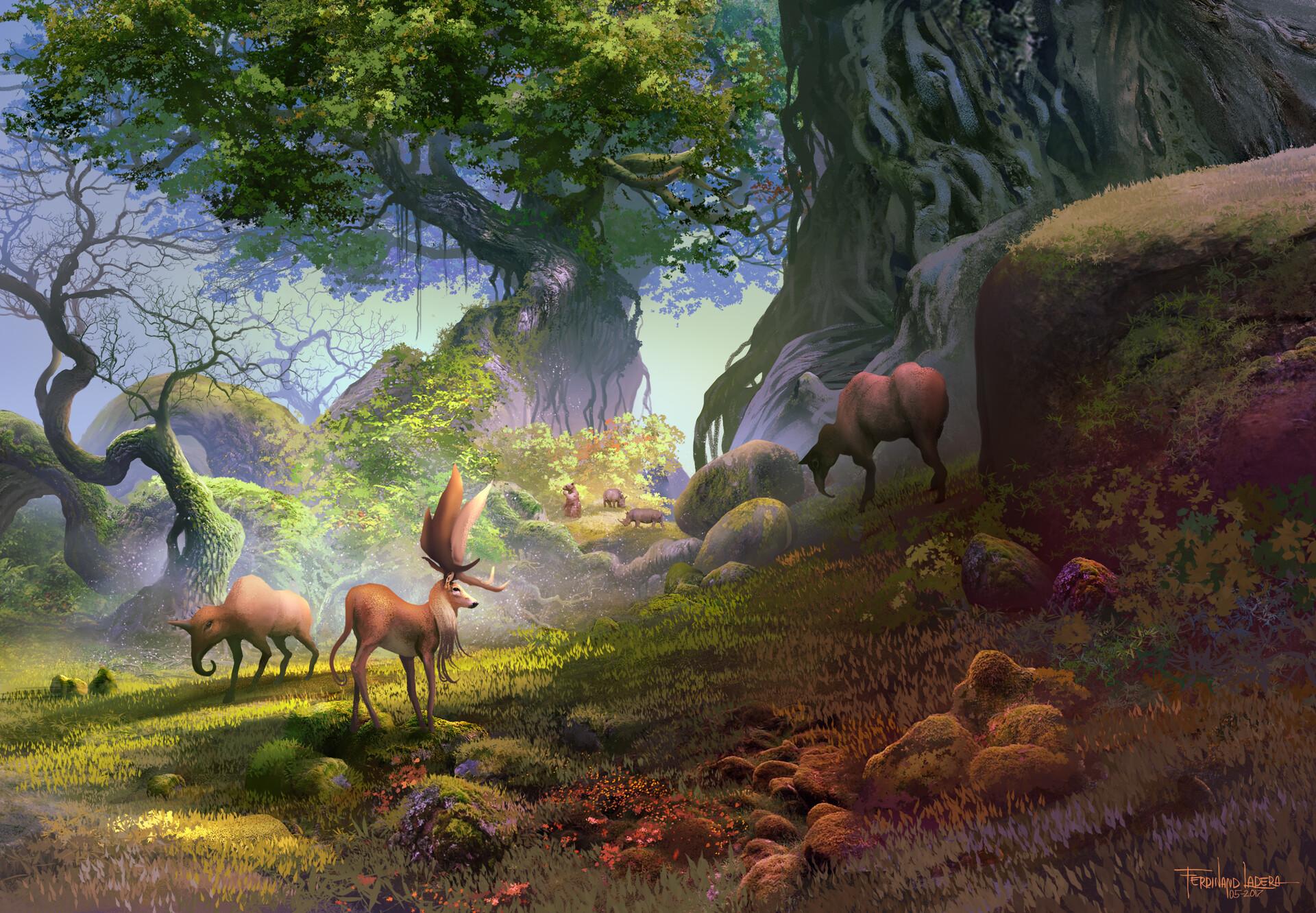 Ferdinand ladera druids