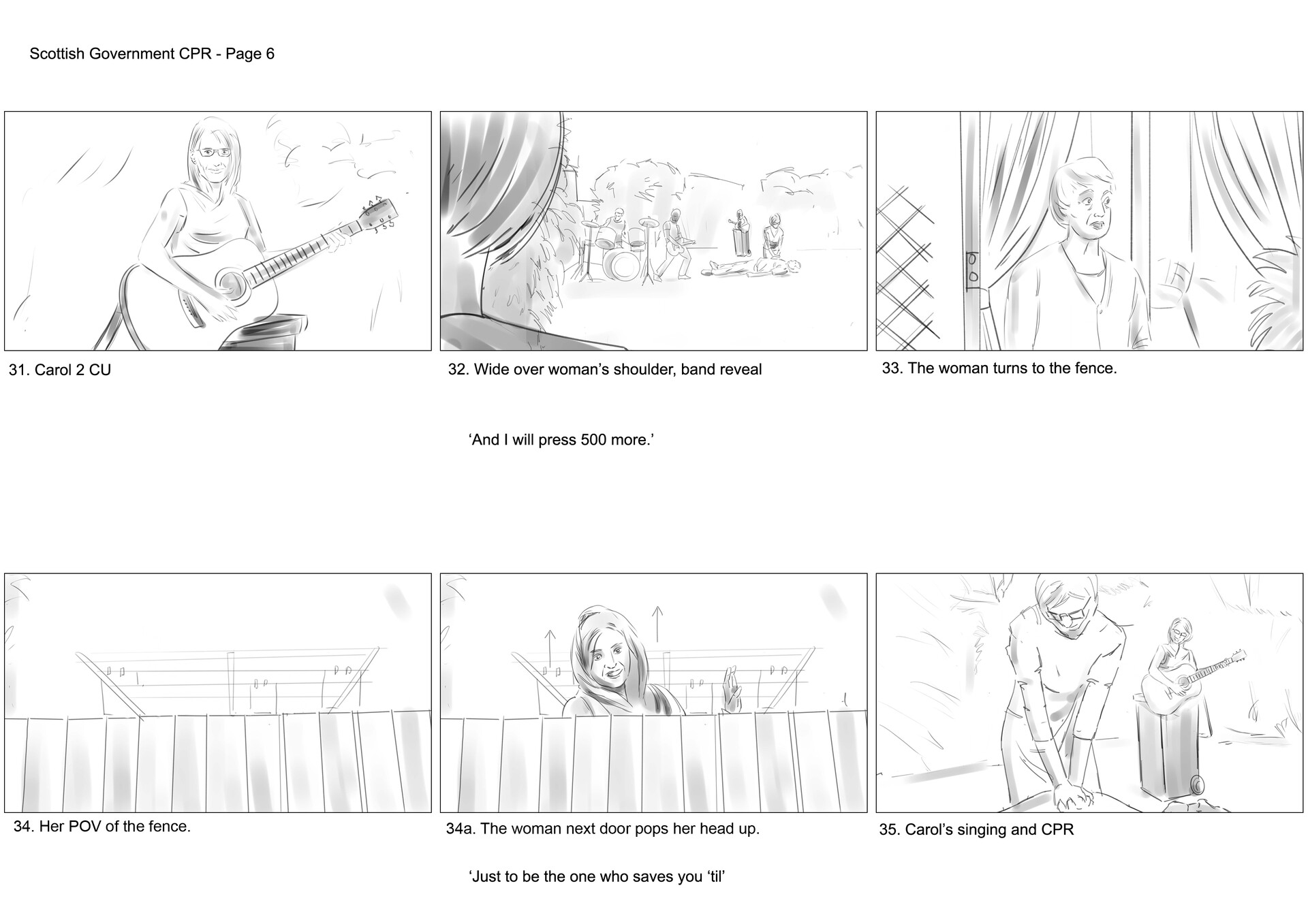 David newbigging save a life for scotland storyboards v2 6