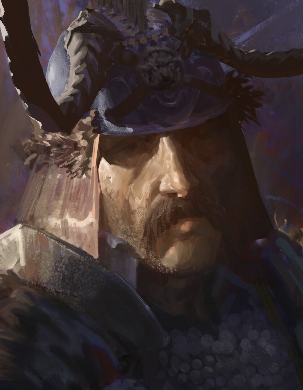 Artur treffner woodland warrior closeup