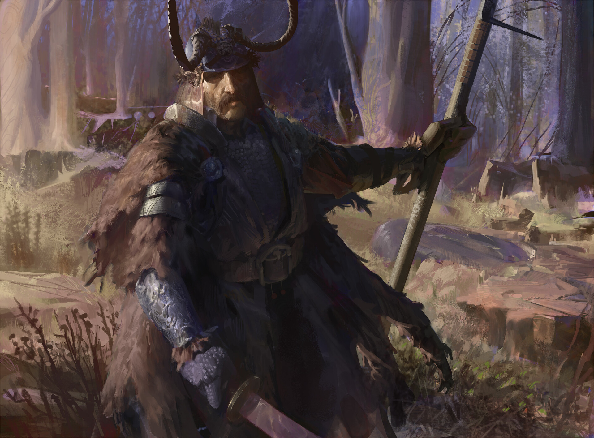 Artur treffner woodland warrior