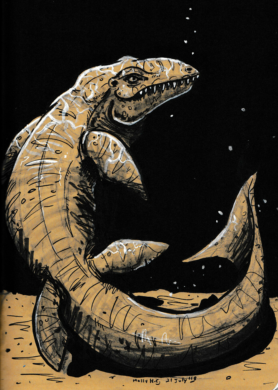 """Mosasaurus""