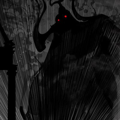 Michael budgen project 2 figure in light blur budgen michael