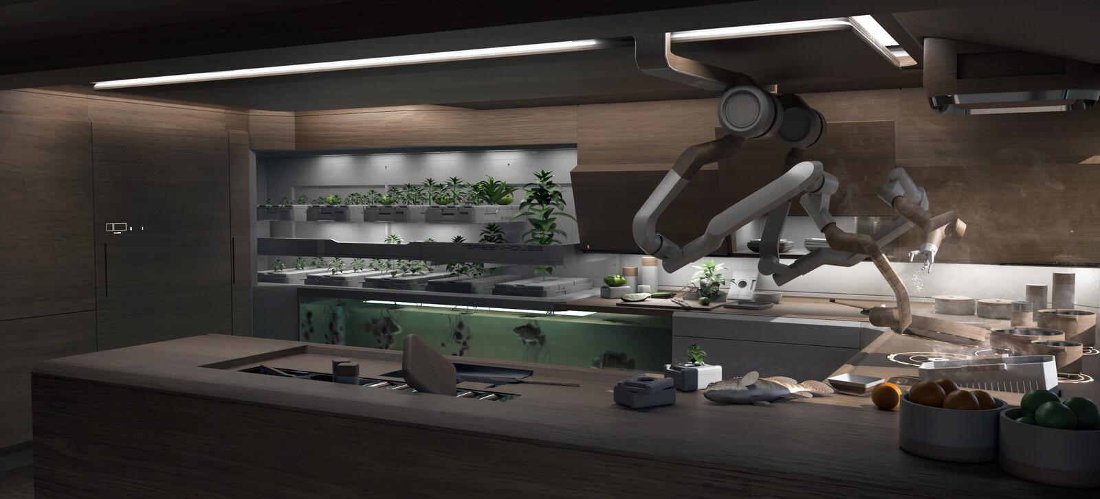 NVIDIA Metropia 2042 Interiors of the Future