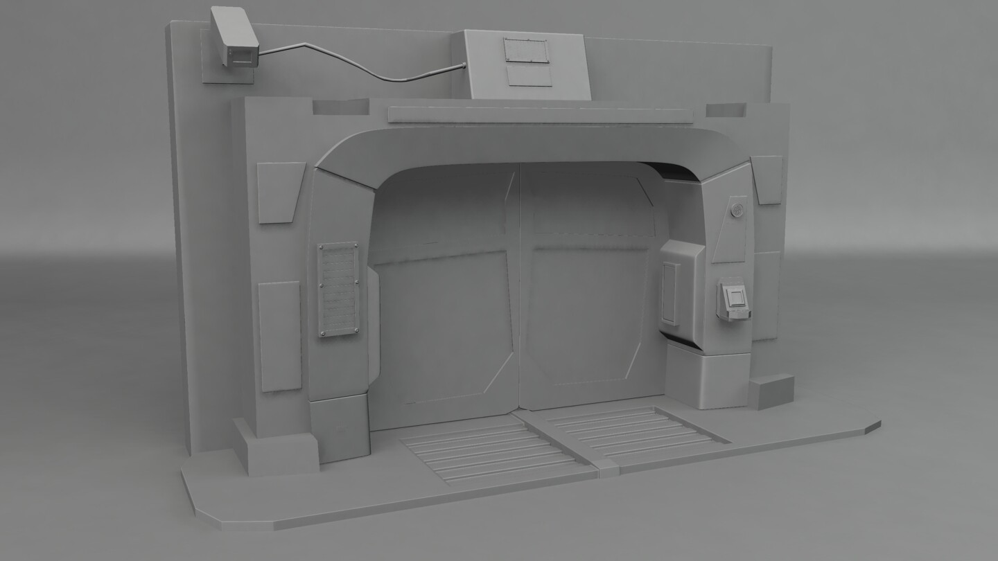 Mental Ray rendering of high poly model.