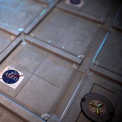 Space Station Metal Panels